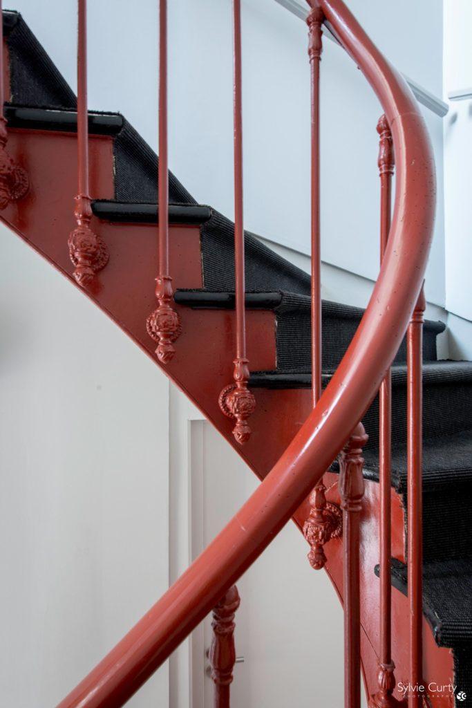restauration escalier comptoirs du patrimoine